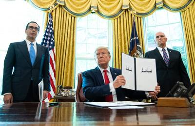 Trump pakt met nieuwe sancties grootayatollah Iran aan