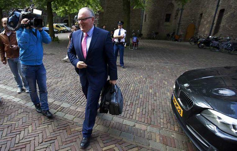Minister Timmermans van Buitenlandse Zaken. Beeld anp