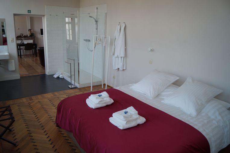 Ook de bestaande hotelappartementen in het herenhuis blijven de moeite waard