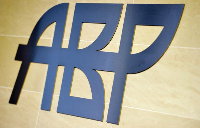 Logo van pensioenfonds ABP.