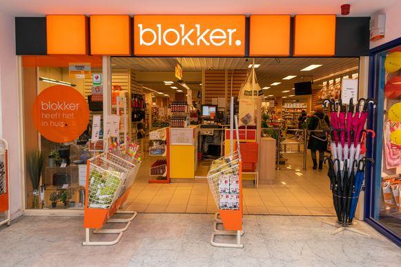 De Blokker-winkel aan de Keyserlei in Antwerpen.