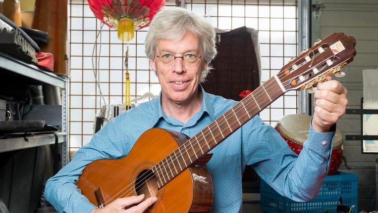 Componist Joël Bons, artistiek leider van het Nieuw Ensemble en het Atlas Ensemble Beeld Ivo van der Bent