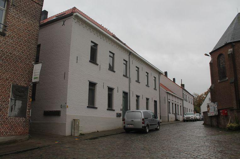 Een van de Pajotse projecten voor extra sociale huurwoningen: de herinrichting van Ring in het centrum van Bogaarden.