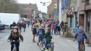 Leerlingen baas in Kerkstraat