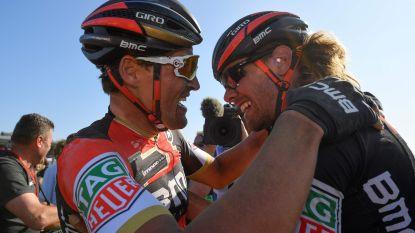 """Van Avermaet treurt om vertrek van zijn maatje: """"Een groot verlies voor BMC"""""""
