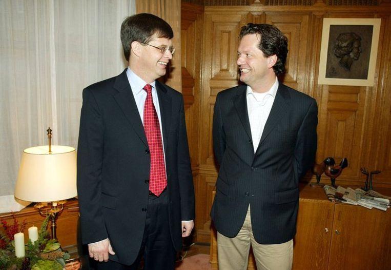 Met Jan-Peter Balkenende Beeld Hélène Wiesenhaan
