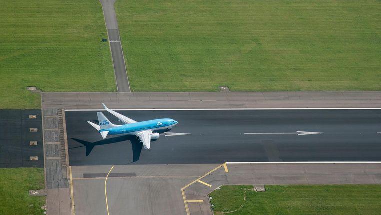 Het aantal vluchten dat op Schiphol komt en gaat, heeft bijna zijn maximum van 500.000 per jaar bereikt Beeld anp