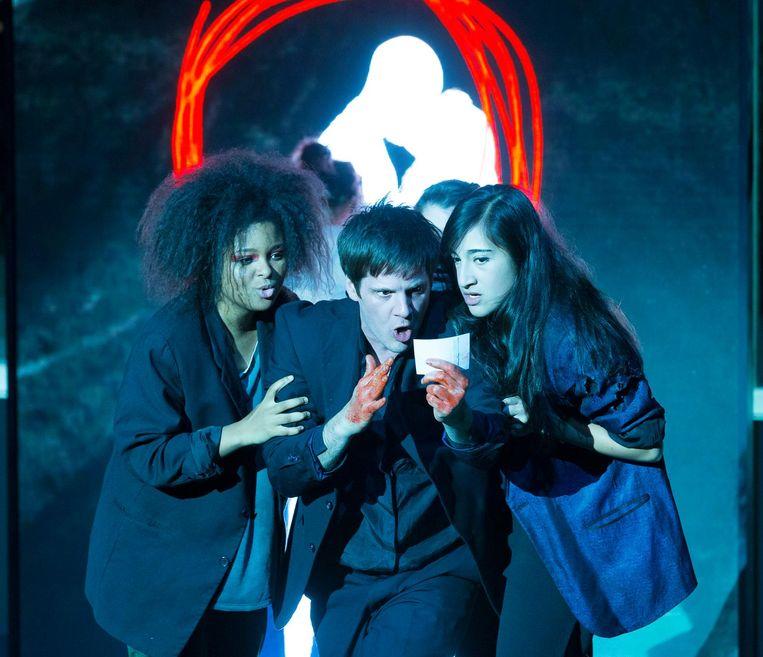 Scene uit de Amerikaanse versie van Lazarus. Beeld Jan Versweyveld