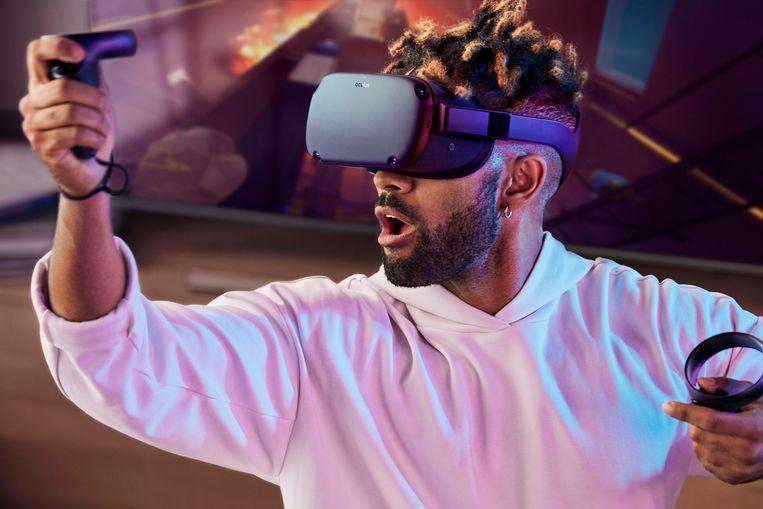 Een van de VR-brillen van Oculus Beeld AP