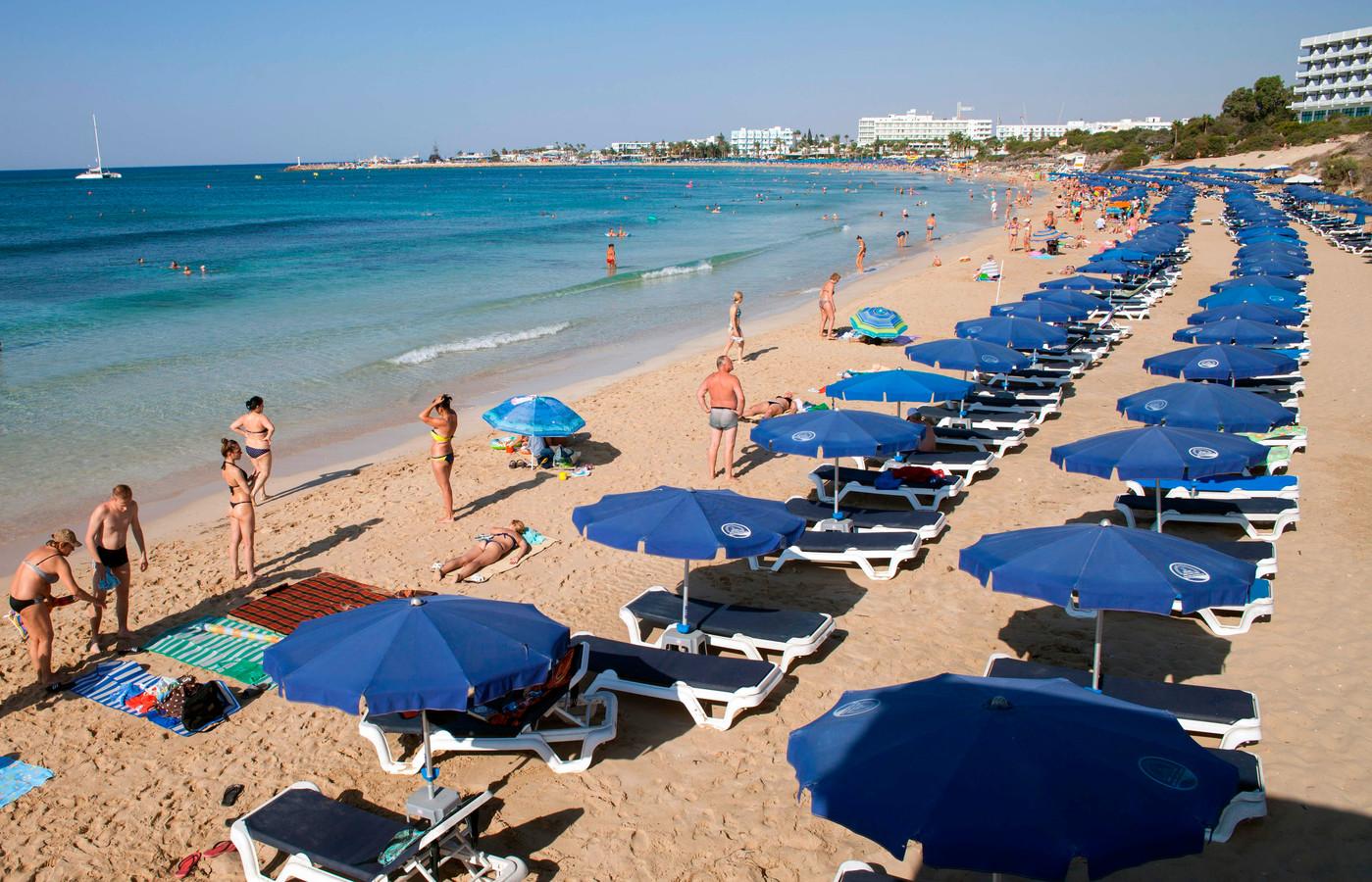 Ayia Napa in het zuidwesten van Cyprus.