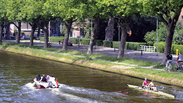 De binnenstad van Delft