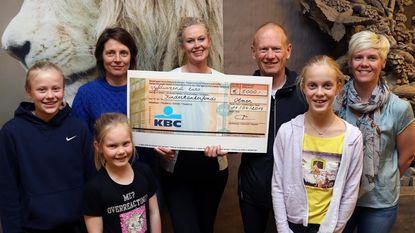 Kinderkankerfonds krijgt cheque van 5.000 euro