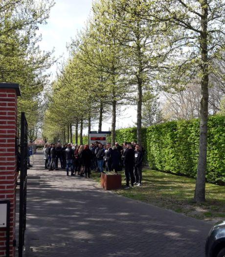 Enorme drukte bij uitvaart van Ger van Zundert in Breda