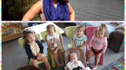 Nieuwe onthaalmama Anais (30) vangt meteen zeven kindjes op