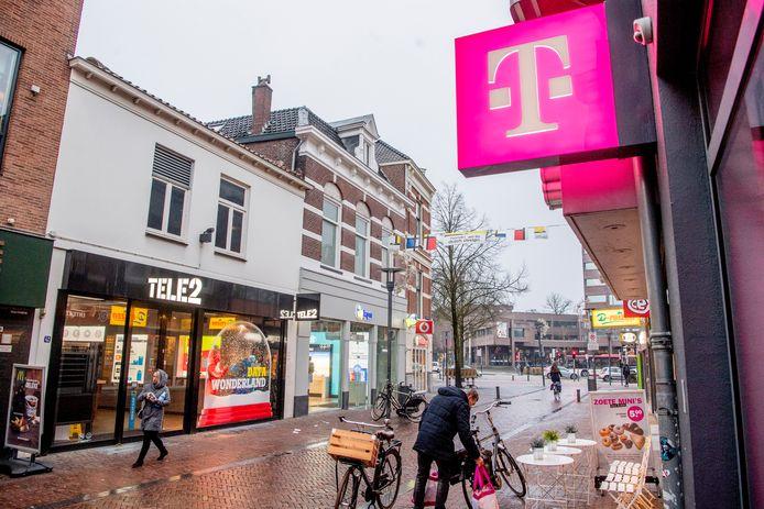 T-Mobile en Tele2 willen fuseren.