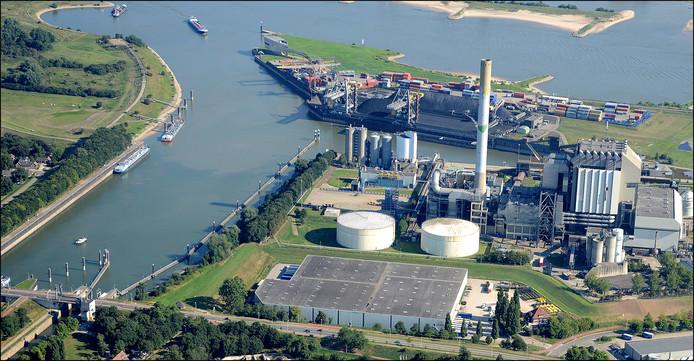 Na de afbraak van de kolencentrale wil Engie twee windmolens bouwen aan de kop van het MaasWaalkanaal.