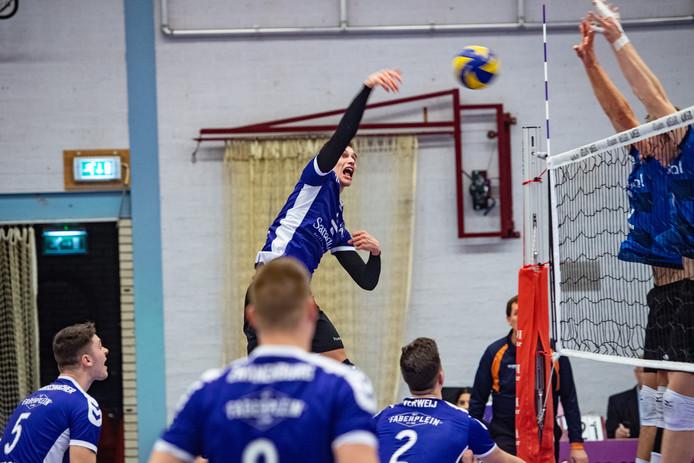 De volleyballers van Vocasa.