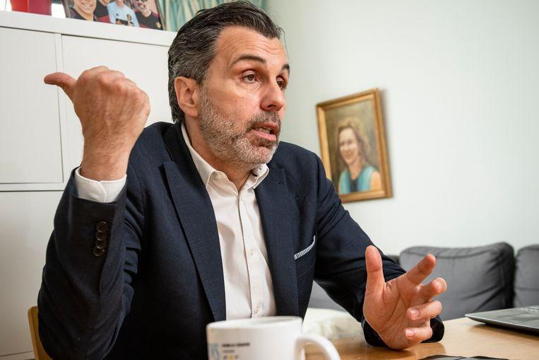 Journalist Christophe Deborsu.