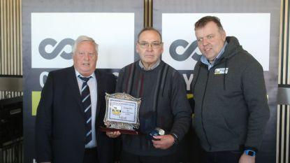 Eric Lesage kreeg Lifetime Achievement Award van wielerbond