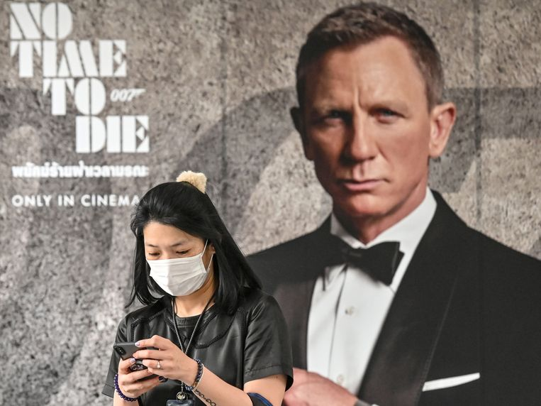De release van de nieuwste Bond-film is uitgesteld in de hoop dat mondmaskertjes dan allang verdwenen zijn.
