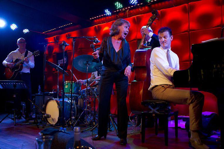 Rita Reys begin deze maand met het Peter Beets Quartet in de North Sea Jazz Club. Beeld anp