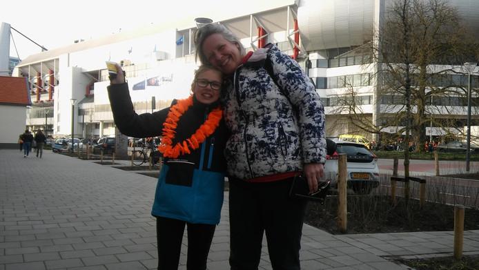 Anouk en Marly Loden uit Castricum.