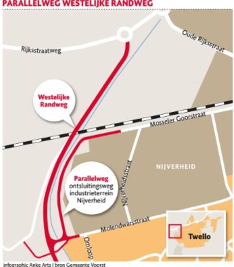 Plan voor ontzien Molendwarsstraat bij aanleg randweg Twello
