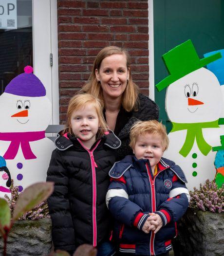 Winterse vrolijkheid: sneeuwpoppen zoeken in Halsteren