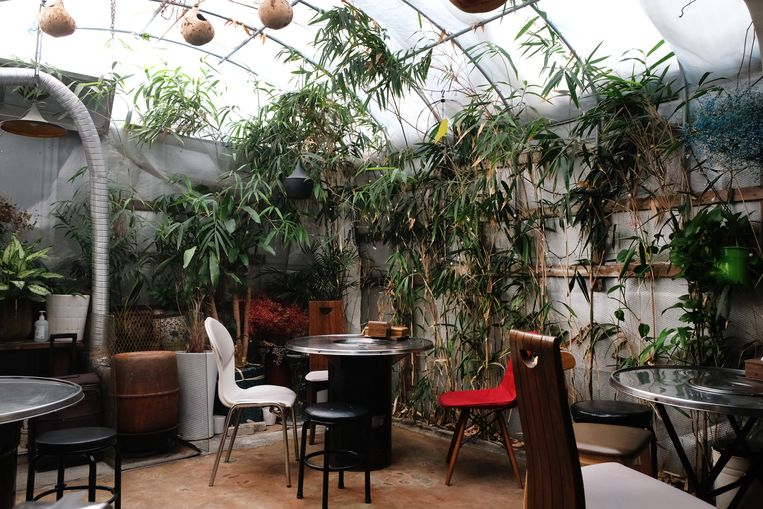 Restaurant Galdae Pocha. Beeld Sangsuk Sylvia Kang