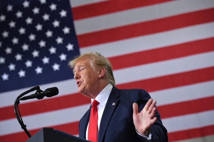 President Donald Trump haalde de afgelopen dagen op Twitter meermaals uit naar vier progressieve Democratische congresvrouwen.