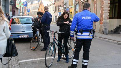 Politie schrijft meer dan 3.000 pv's uit voor fietsers in 2019