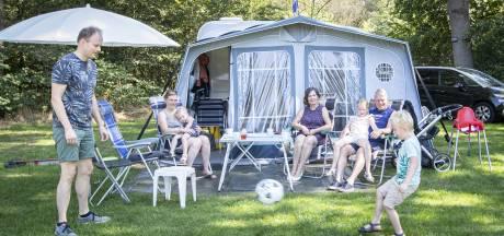 Hoe beleefden vakantiegangers in de Reggestreek het laatste weekend op de camping?