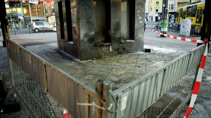 2 daklozen in brand gestoken in Berlijns station