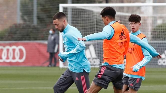 't Gaat almaar beter met Eden Hazard: zit hij zondag al in de Real-kern voor uitmatch bij Eibar?