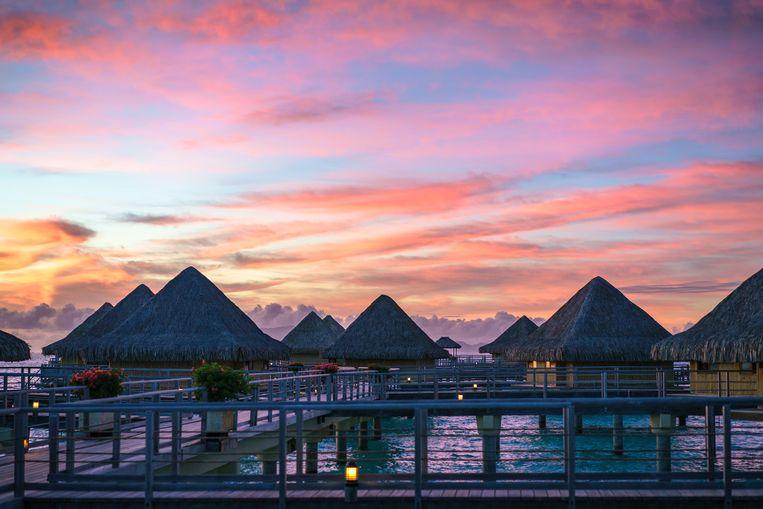 Bora Bora, waar onder meer Nicole Kidman en Keith Urban op huwelijksreis geweest zijn.