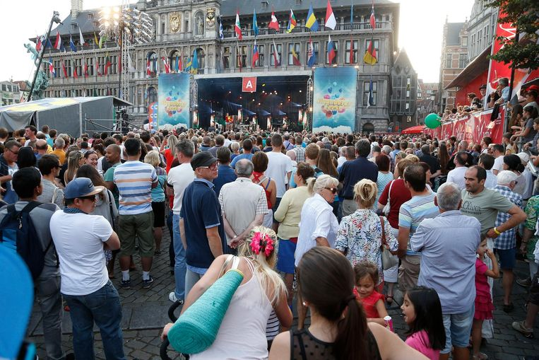 Grote Markt in Antwerpen.