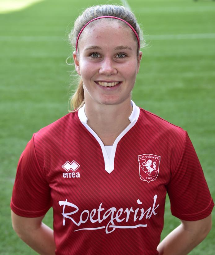 Sisca Folkertsma, belangrijk met een goal en een assist.