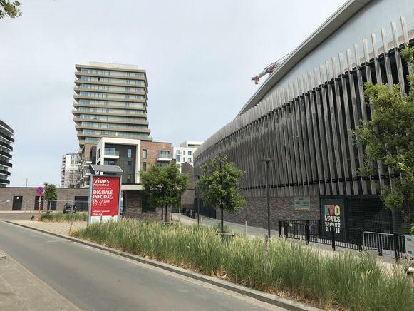De letters van de Versluys Arena zijn verdwenen van het stadion van KV Oostende