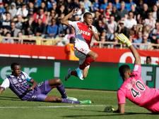 Franse koploper Monaco blijft winnen