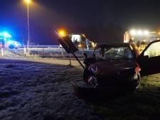 Traumahelikopter landt op A1 voor ernstig ongeval bij Wilp