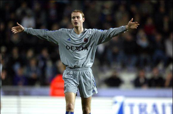 Tim Smolders speelde van 1999 tot 2004 voor Club Brugge. Foto: Germinal Beerschot-Club Brugge (2003).