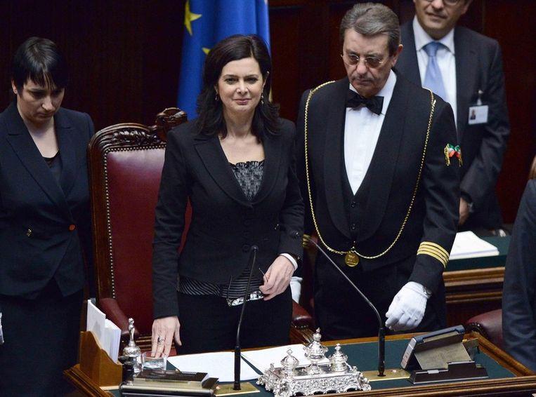 Laura Boldrini Beeld EPA