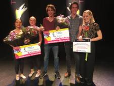 Sallanders winnen Christenhusz Theaterprijs, publieksprijs voor Oldenzaalse