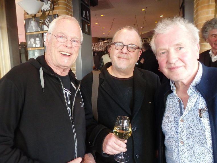 De popveteranen Sjeng Stokkink, Martin Anders en Stan Rijven Beeld Schuim