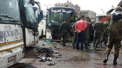 Zeker 44 doden bij dubbele aanslag op bedevaarders in Damascus