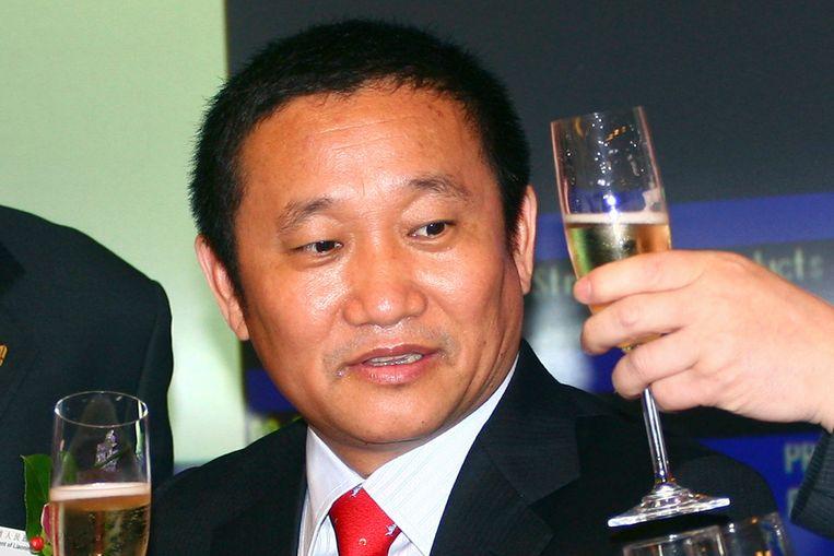 De Chinese miljardair Liu Zhongtian.