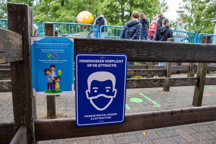 Een bezoek aan Plopsaland is niet meer mogelijk vanwege de verscherpte coronamaatregelen in België.
