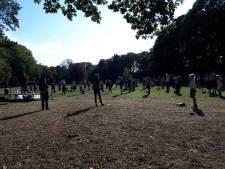Nijmeegs protest Kamp Moria: 'Nederland kan beter dan dit'