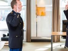 Nieuwe politiechef spreekt personeel per e-mail toe
