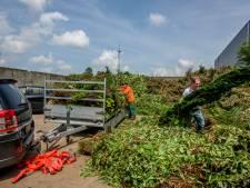 Milieustraat in Giessen te kort open 'als heel Holland snoeit'